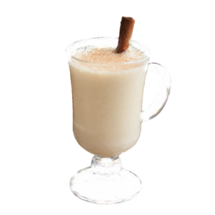 white hot chocolate λευκή ζεστή σοκολάτα